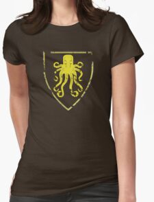 Greyjoy Classic Castle (distressed) Womens Fitted T-Shirt