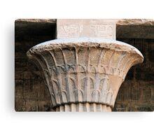 papyrus column Canvas Print