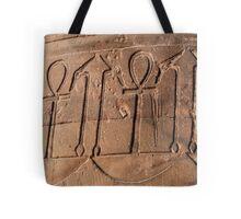 Ankh symbol hieroglyph Tote Bag