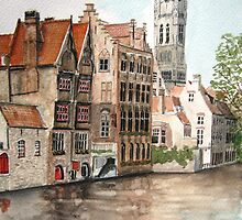 """""""Venice of the North"""" - Bruges, Belgium by Timothy Smith"""