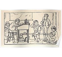 Some Little People George Kringle & Kate Greenaway 1881 0047 In School Poster
