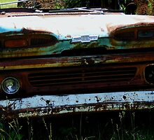 Chevy Apache - Grille and Headlights by shimschoot