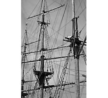 the rigging............. Photographic Print