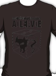 Schrodinger's cat  T-Shirt