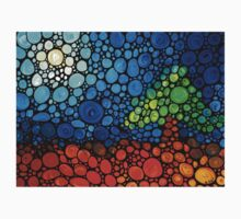A Day To Remember - Colorful Mosaic Landscape By Sharon Cummings Kids Clothes
