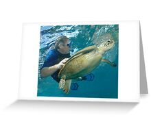 Close Encounters of the Turtle Kind Greeting Card