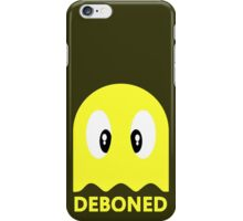 Deboned ghost - YELLOW iPhone Case/Skin