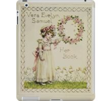 Kate Greenaway Collection 1905 0455 Book Plate of Miss Vera Evelyn Samuel iPad Case/Skin