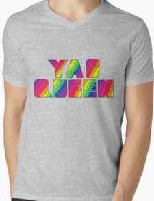 Broad City YAS QUEEN Mens V-Neck T-Shirt