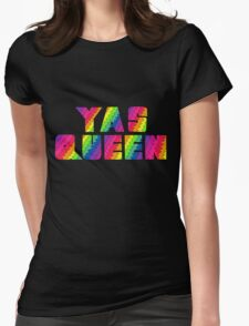 Broad City YAS QUEEN Womens Fitted T-Shirt