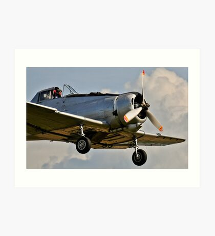 Tyabb Airshow  Ceres Crop Duster Art Print