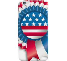 4th of July Ribbon Memorial Day iPhone Case/Skin