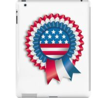 4th of July Ribbon Memorial Day iPad Case/Skin