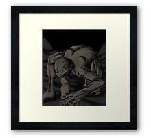 crawling ghoul Framed Print