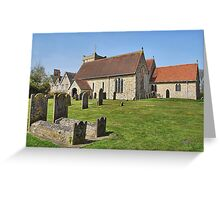 St . Mary The Virgin  Selborne Greeting Card