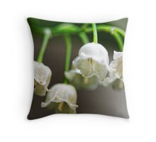 Lily-of-The-Valley - Bridgton,  Maine Throw Pillow