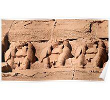 Abu Simbel Temple 27 Poster