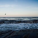 Running Water - Austinmer rocks Australia by TMphotography
