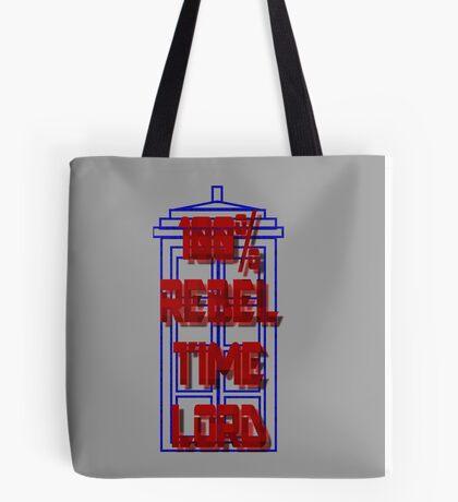 100% Rebel Time Lord Tote Bag