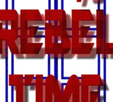 100% Rebel Time Lord Sticker