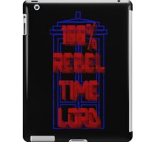 100% Rebel Time Lord iPad Case/Skin