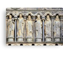 Church sculpture Canvas Print