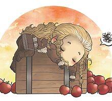 Apple nightmares by AlyTheKitten