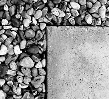 Patio and pebble by Tom Palmer