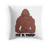 Its a trap! Throw Pillow