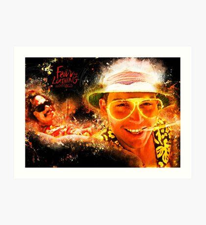 Fear and Loathing in Las Vegas - Alternative Movie Poster Art Print