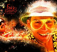 Fear and Loathing in Las Vegas - Alternative Movie Poster by HDMI2K