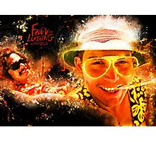 Fear and Loathing in Las Vegas - Alternative Movie Poster Photographic Print