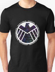Shield Logo with Kree Symbols T-Shirt