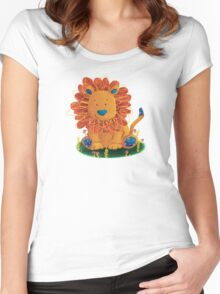 Little Lion Women's Fitted Scoop T-Shirt