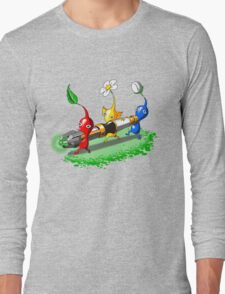 Pikmin Who Long Sleeve T-Shirt