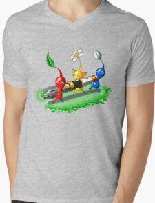 Pikmin Who Mens V-Neck T-Shirt