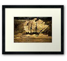 HMS Victory  Framed Print
