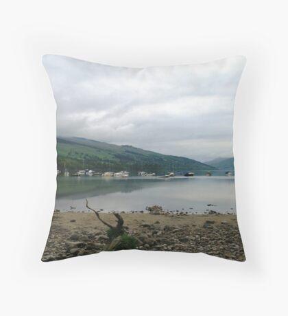 Loch Tay Throw Pillow