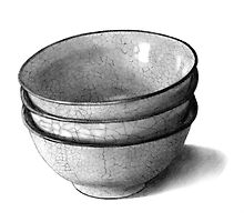 Stack of Three Bowls by Joyce