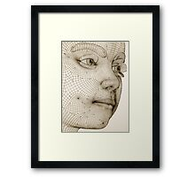 The Fabrication of Reality IV Framed Print