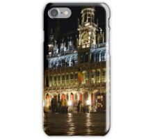 Brussels - the Magnificent Grand Place at Night iPhone Case/Skin
