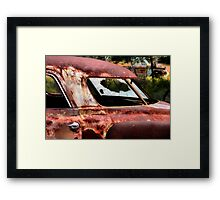 Out-Casted  ( BoneYard Series ) Framed Print