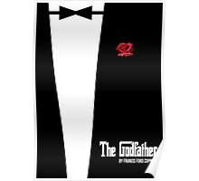 The Godfather - minimal movie poster Poster