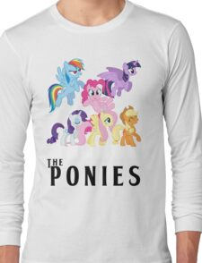 The Ponies - Beatles inspired Long Sleeve T-Shirt