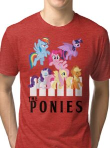 The Ponies - Beatles inspired Tri-blend T-Shirt