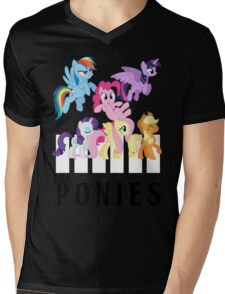 The Ponies - Beatles inspired Mens V-Neck T-Shirt