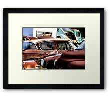 The Bull Pen  ( BoneYard Series ) Framed Print