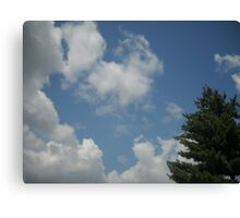 Meaningful Clouds Canvas Print