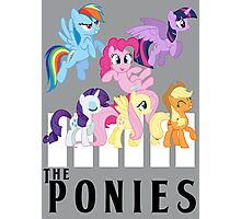 The Ponies - Beatles inspired Photographic Print