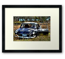 Abandon In The Fields  ( BoneYard Series ) Framed Print